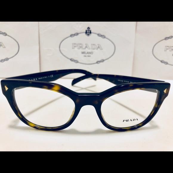 b9db28e9480d Prada Eyeglasses Brown Havana Women 51mm New 21S. M 5b10534da44dbe99111edef9